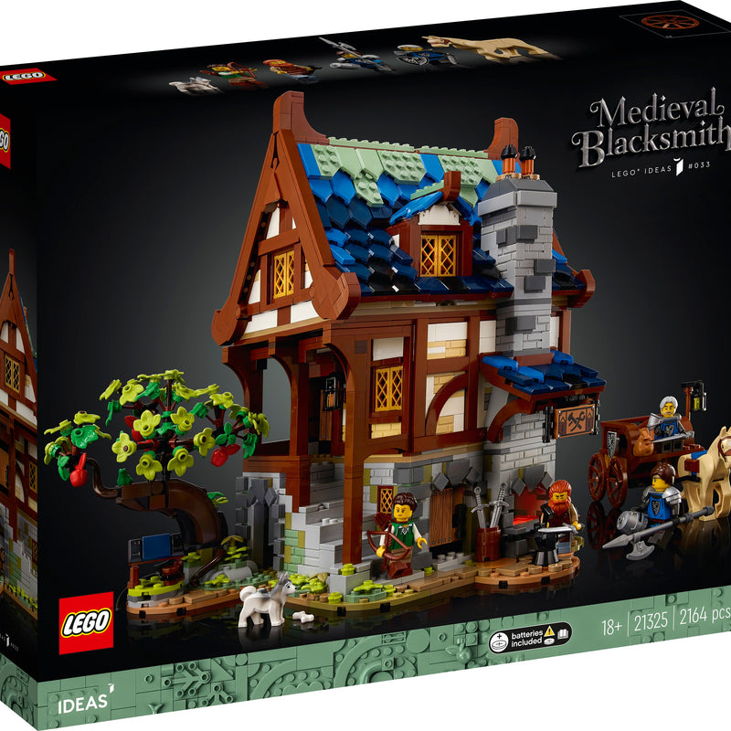 LEGO® Ideas Medieval Blacksmith 21325
