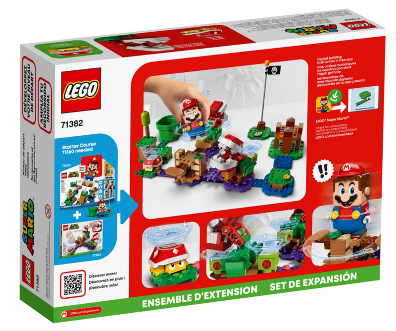 LEGO® Super Mario™ Piranha Plant Puzzling Challenge Expansion Set 71382