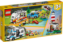 Load image into Gallery viewer, LEGO® Creator 3in1's Caravan Family Holiday 31108