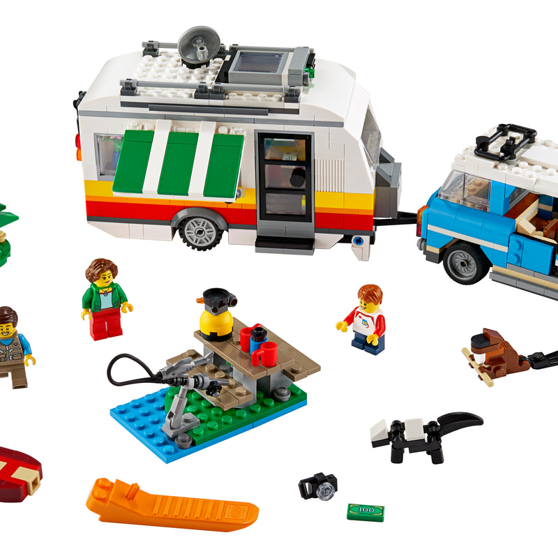 LEGO® Creator 3in1's Caravan Family Holiday 31108