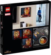 Load image into Gallery viewer, LEGO® Art Marvel Studios Iron Man 31199