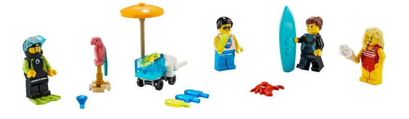 Minifigure Set – Summer Celebration 40344
