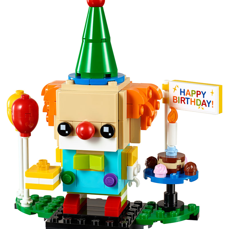 LEGO® BrickHeadz™ BIRTHDAY CLOWN 40348