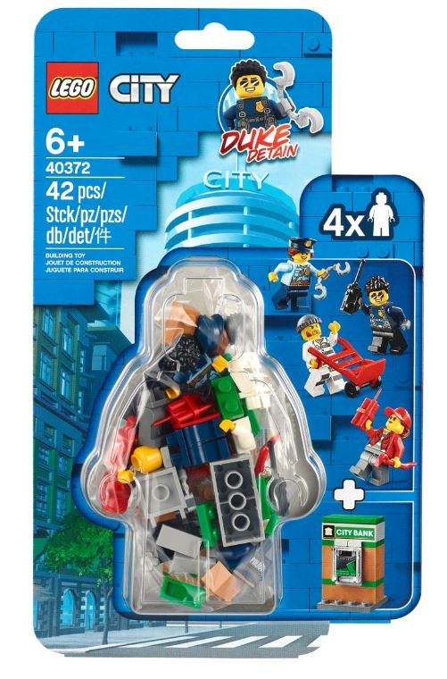 Police Minifigure Accessory Set 40372