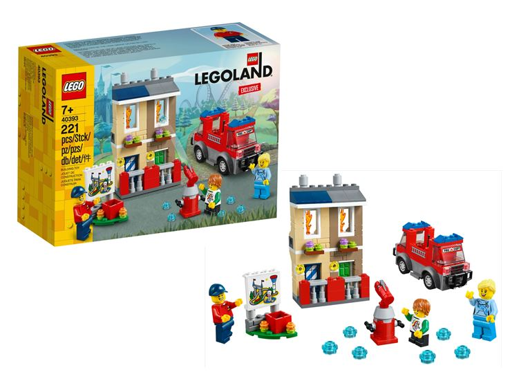 Exclusive! LEGOLAND®  Fire Academy 40393