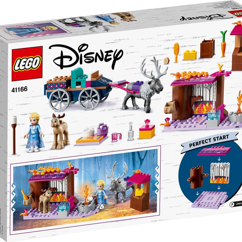 LEGO® l Disney Frozen II Elsa's Wagon Adventure 41166