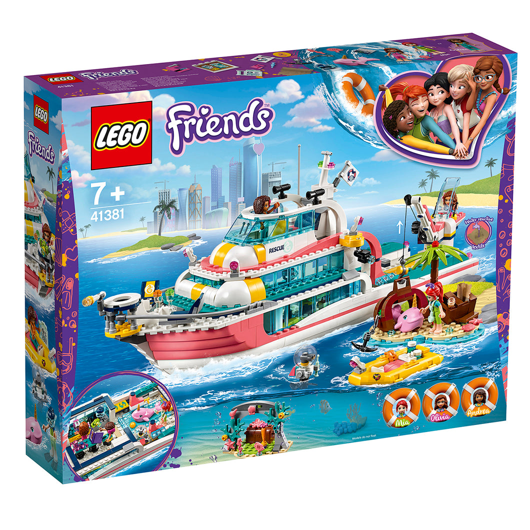LEGO® Friends Rescue Mission Boat 41381