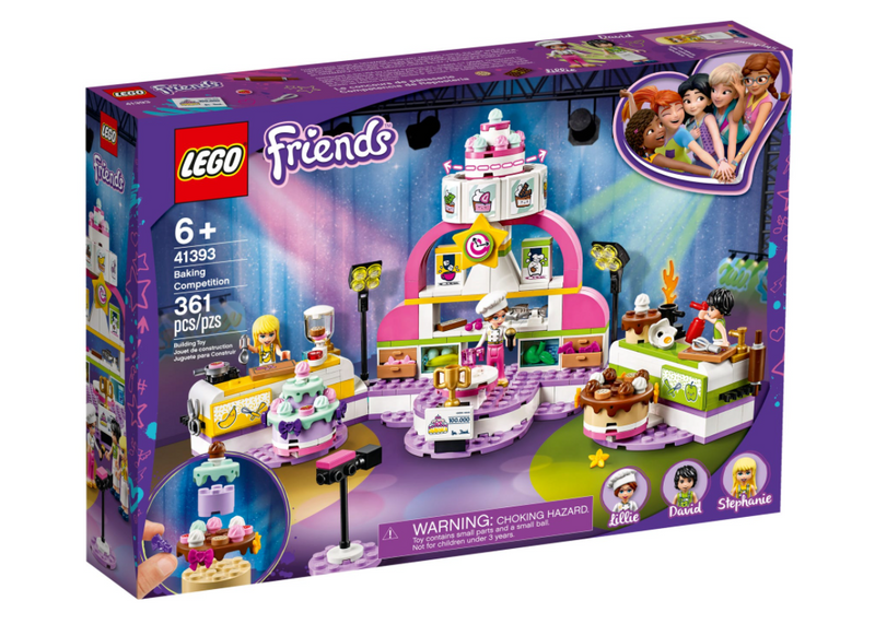 LEGO® Friends Baking Competition Set 41393
