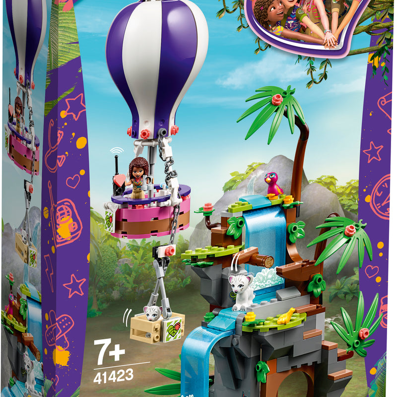 LEGO® Friends Tiger Hot Air Balloon Jungle Rescue 41423