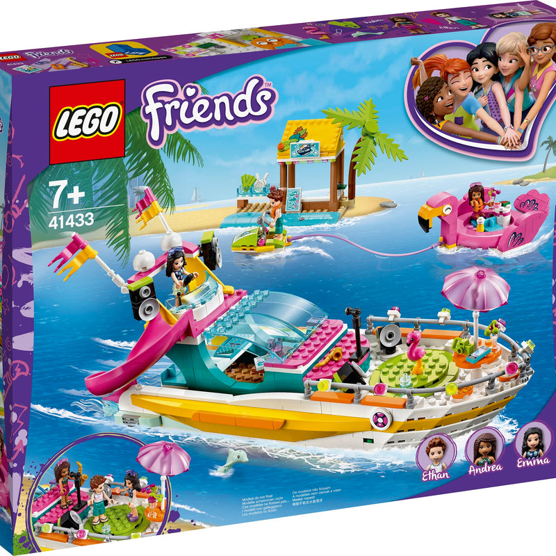 LEGO® Friends Party Boat 41433