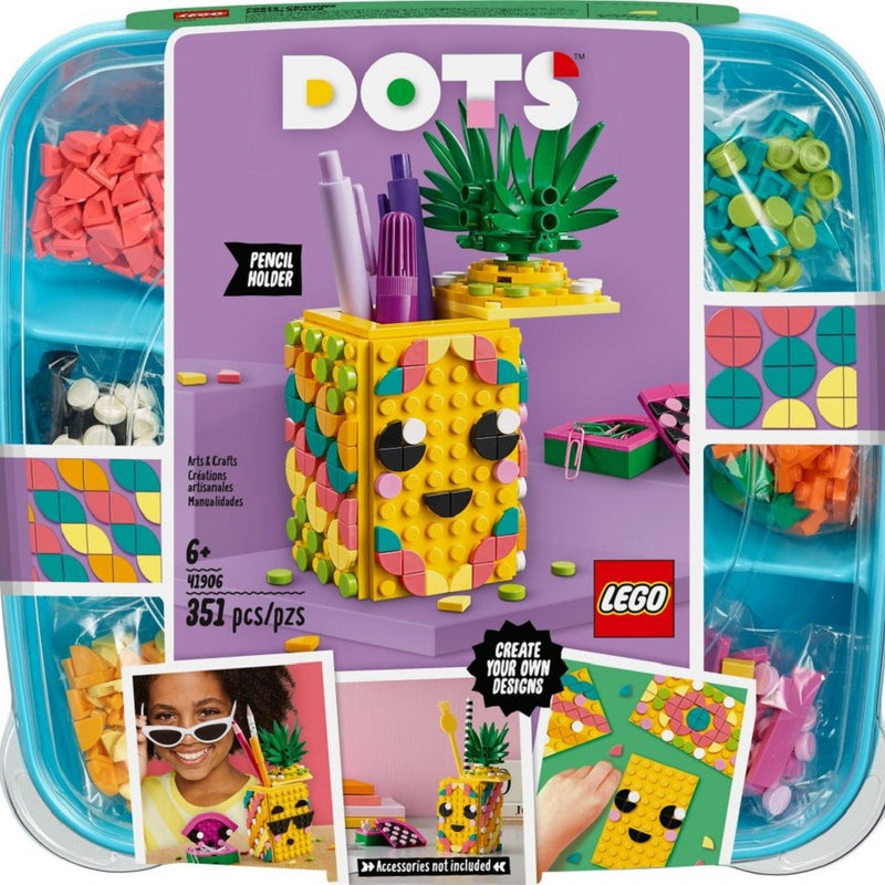LEGO® DOTS Pineapple Pencil Holder set 41906
