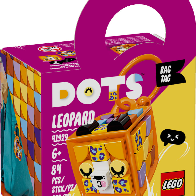 LEGO® DOTS Bag Tag Leopard 41929