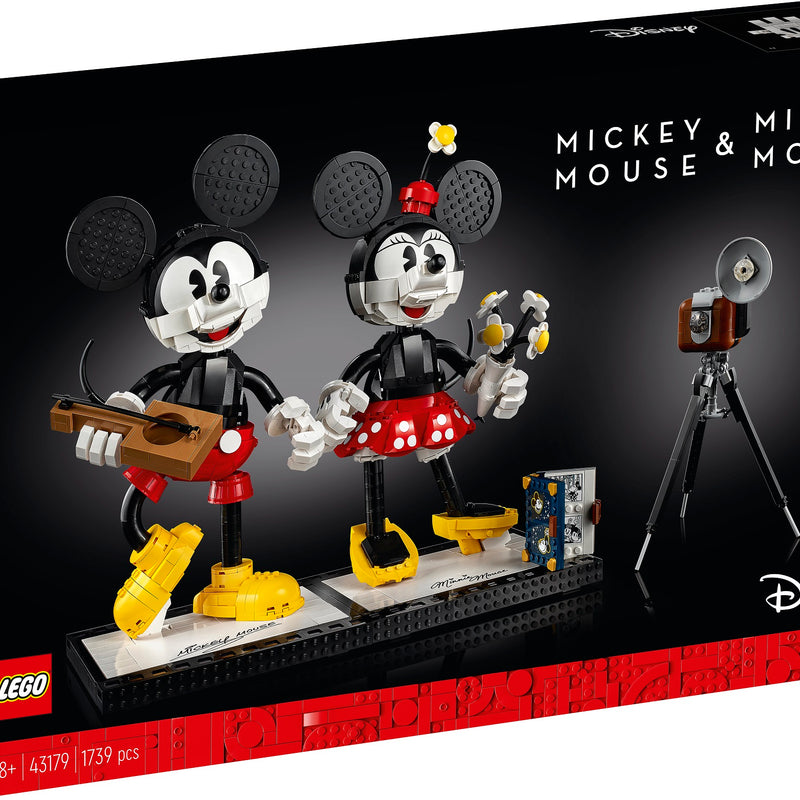 Mickey Mouse & Minnie Mouse Buildable Characters 43179