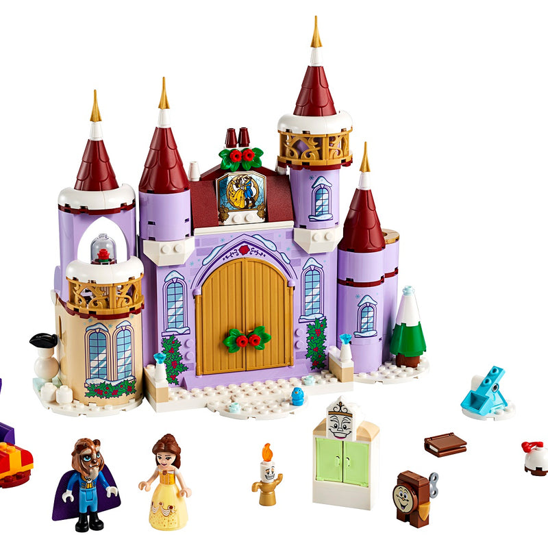 LEGO® ǀ Disney Belle's Castle Winter Celebration 43180