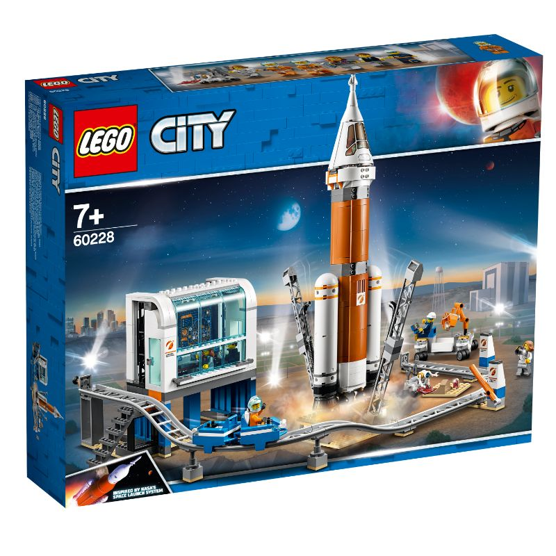 LEGO® City Deep Space Rocket and Launch Control 60228