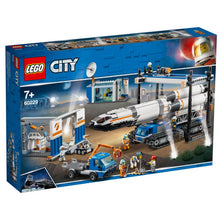 Load image into Gallery viewer, LEGO® City Rocket Assembly & Transport 60229