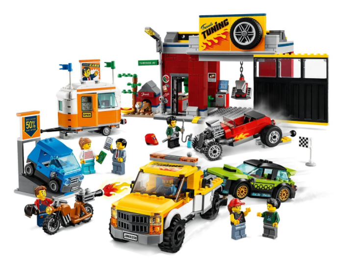 LEGO®City Tuning Workshop 60258