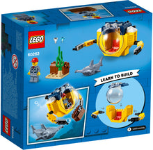 Load image into Gallery viewer, LEGO® City Ocean Mini-Submarine 60263