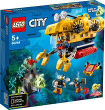 Load image into Gallery viewer, LEGO® City Ocean Exploration Submarine 60264