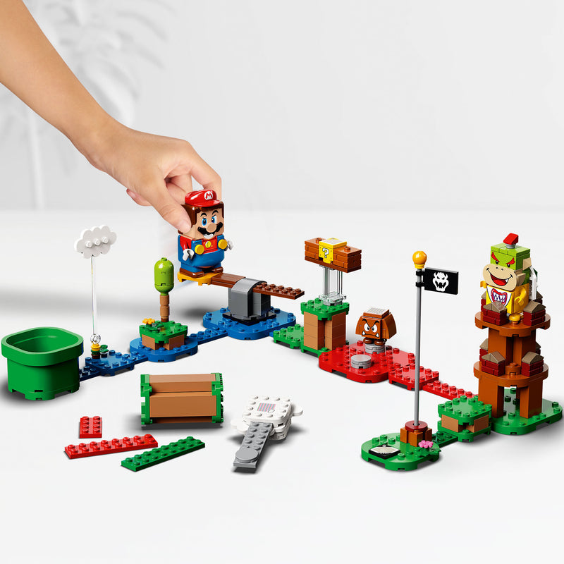 LEGO® Super Mario™ Adventures with Mario starter kit bundle 71360 with gift 30385