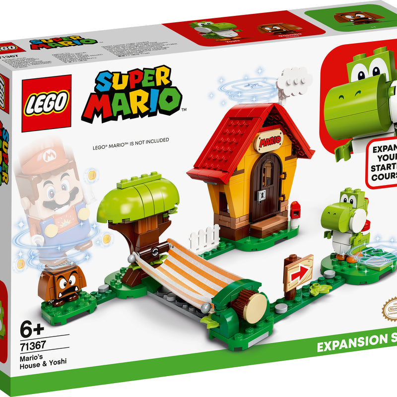 LEGO® Super Mario™ Mario's House & Yoshi Expansion Set 71367