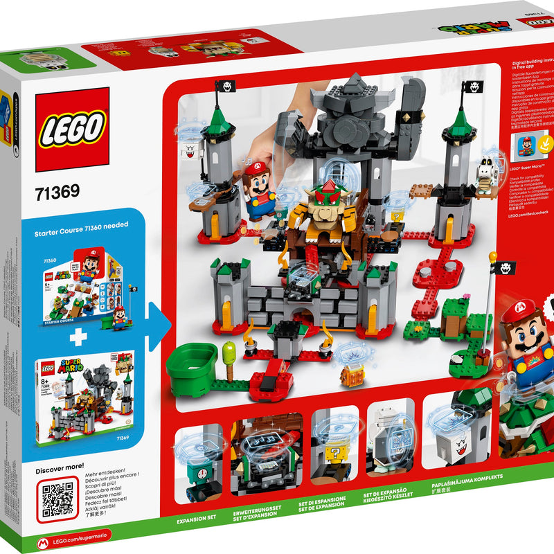 LEGO® Super Mario™ Bowser's Castle Boss Battle Expansion Set 71369