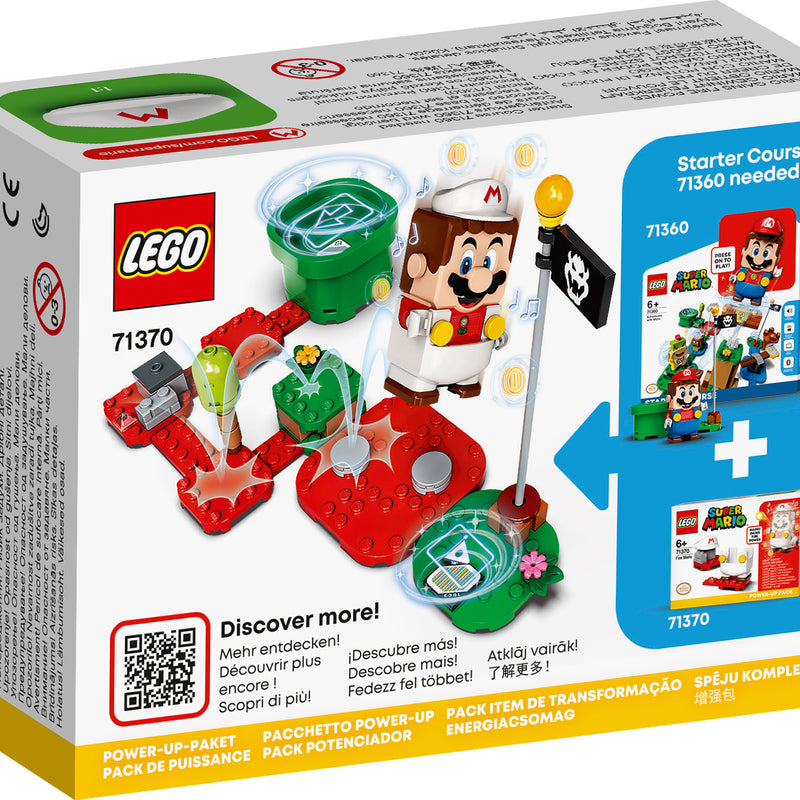 LEGO® Super Mario™ Fire Mario Power-Up Pack 71370