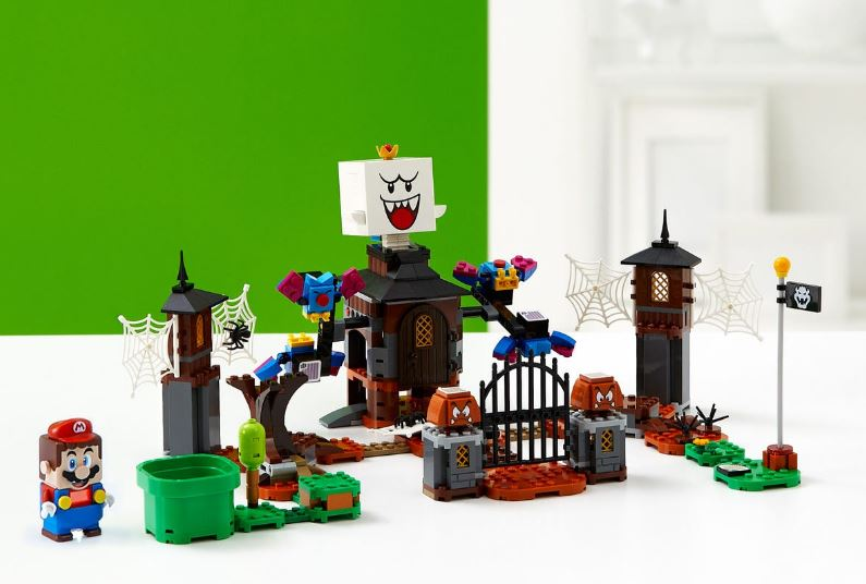 LEGO® Super Mario™ King Boo and the Haunted Yard Expansion Set 71377