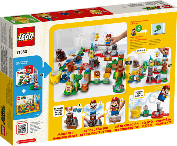 LEGO® Super Mario™ Master Your Adventure Maker Set 71380