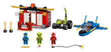 Load image into Gallery viewer, LEGO® NINJAGO® Storm Fighter Battle 71703