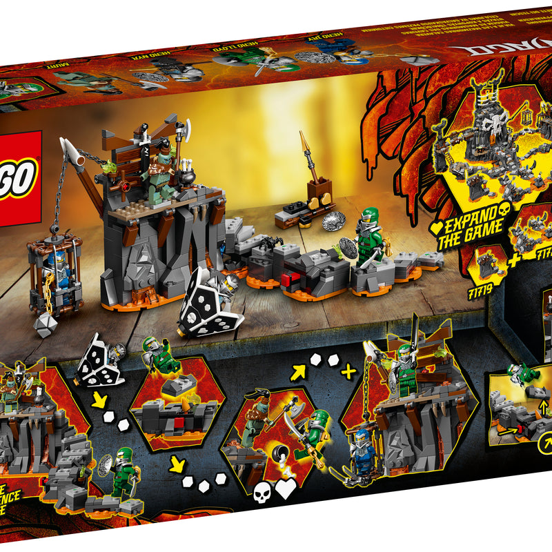 LEGO® NINJAGO® Journey to the Skull Dungeons 71717