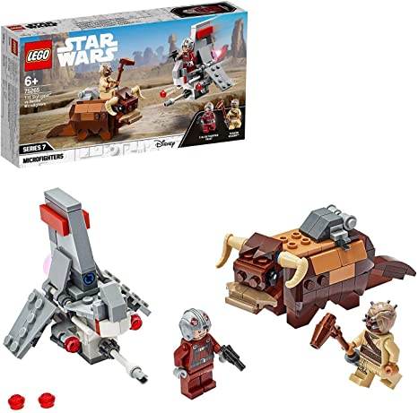 LEGO® Star Wars™ T-16 Skyhopper™ vs Bantha™ Microfighters 75265