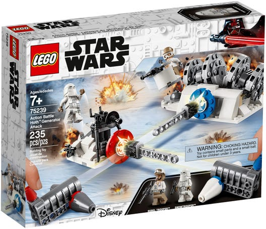 LEGO® Star Wars Action Battle Hoth Generator Attack 75239