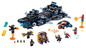 The LEGO® Marvel Avengers Helicarrier 76153