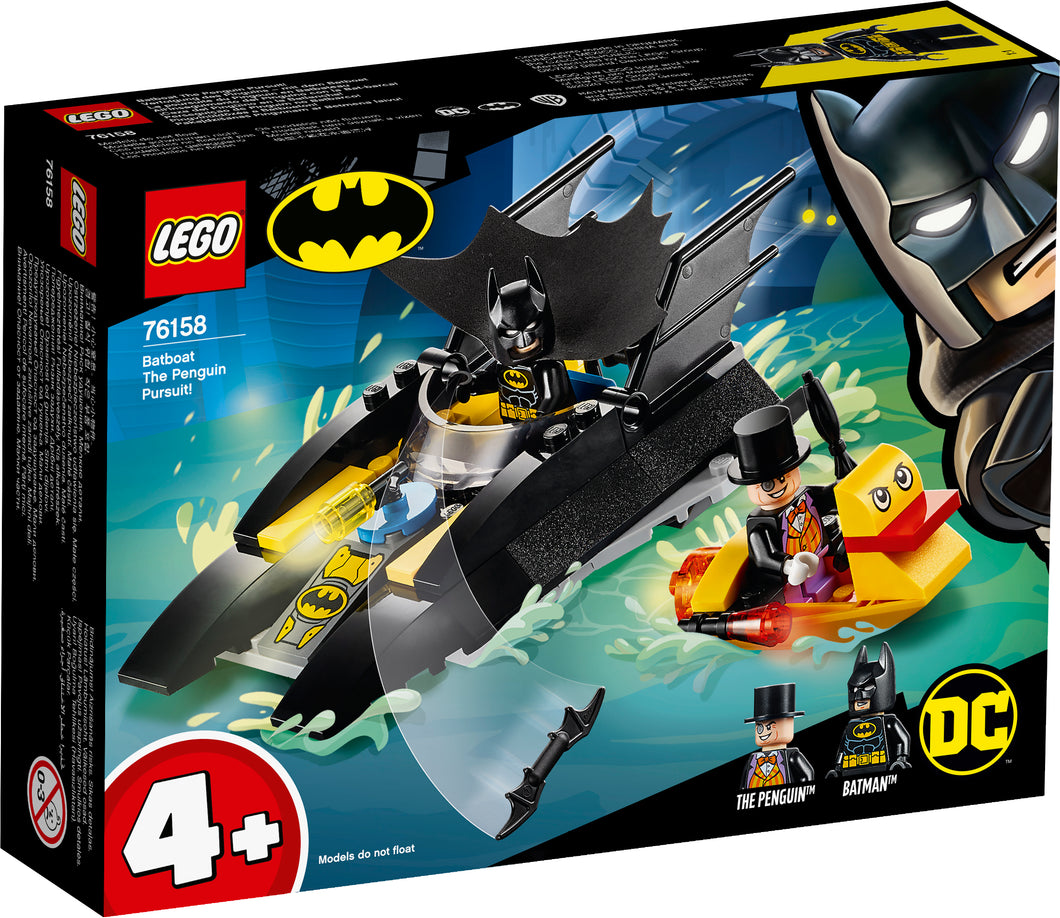 LEGO® DC Batboat The Penguin Pursuit! 76158