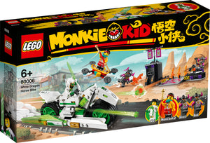 LEGO® Monkie Kid™ White Dragon Horse Bike 80006