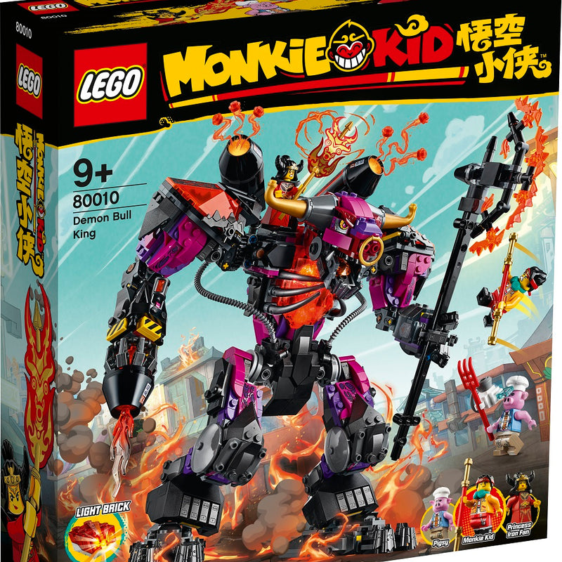 LEGO® Monkie Kid™ Demon Bull King 80010