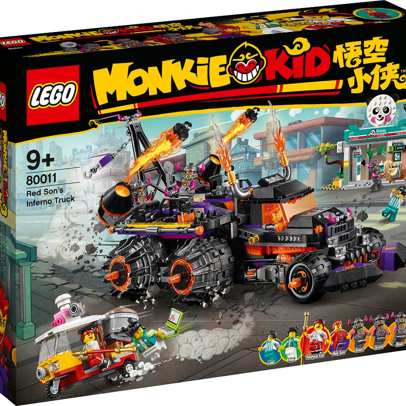 LEGO® Monkie Kid™ Red Son's Inferno Truck 80011