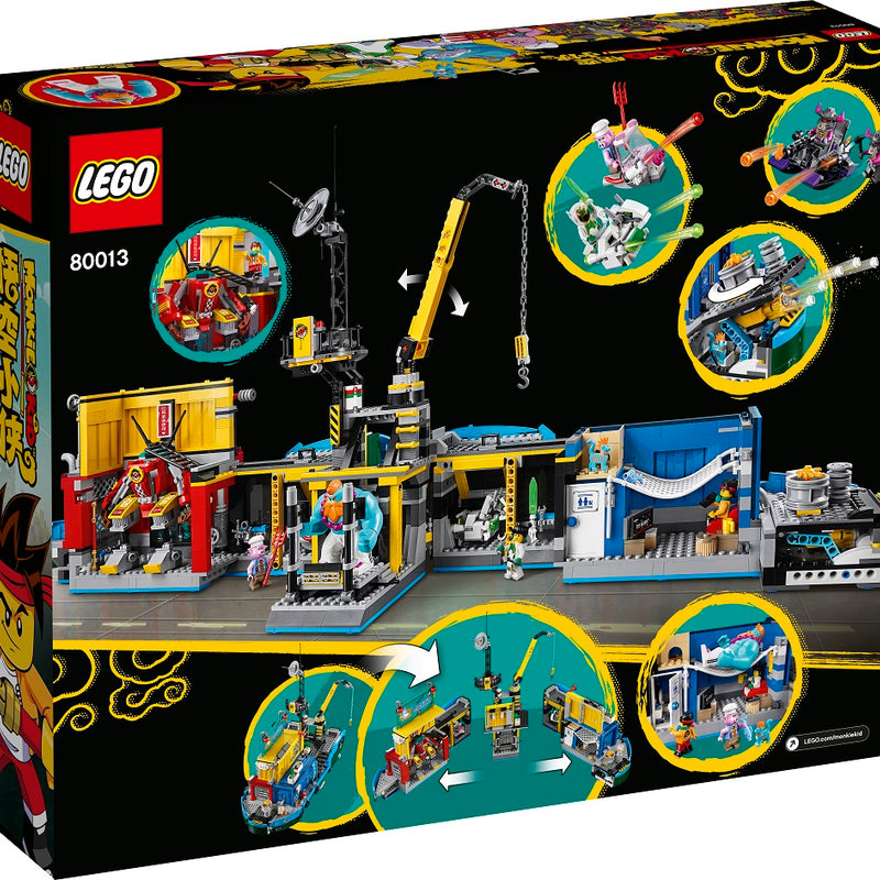 LEGO® Monkie Kid's Team Secret HQ 80013