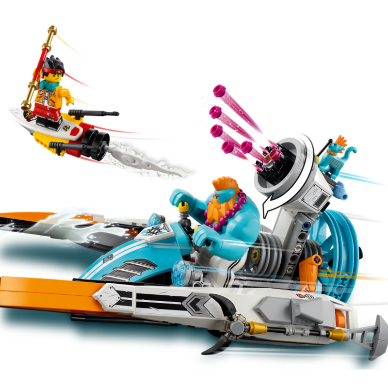 LEGO® Monkie Kid™ Sandy's Speedboat 80014