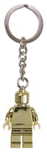 Load image into Gallery viewer, Keychain Minifigure Gold 85807