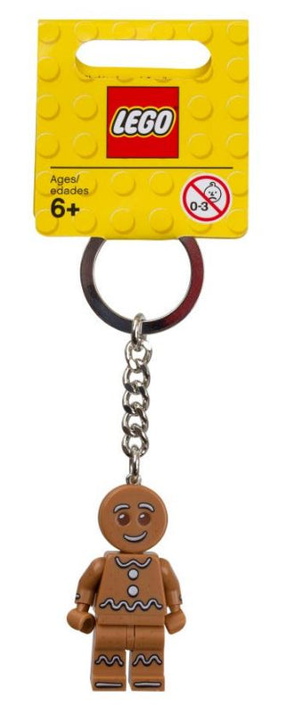LEGO® Iconic Gingerbread Keyring 851394