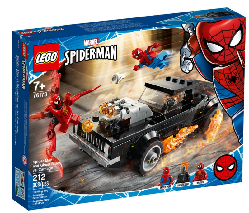 LEGO® Marvel Spider-Man: Spider-Man and Ghost Rider vs. Carnage 76173
