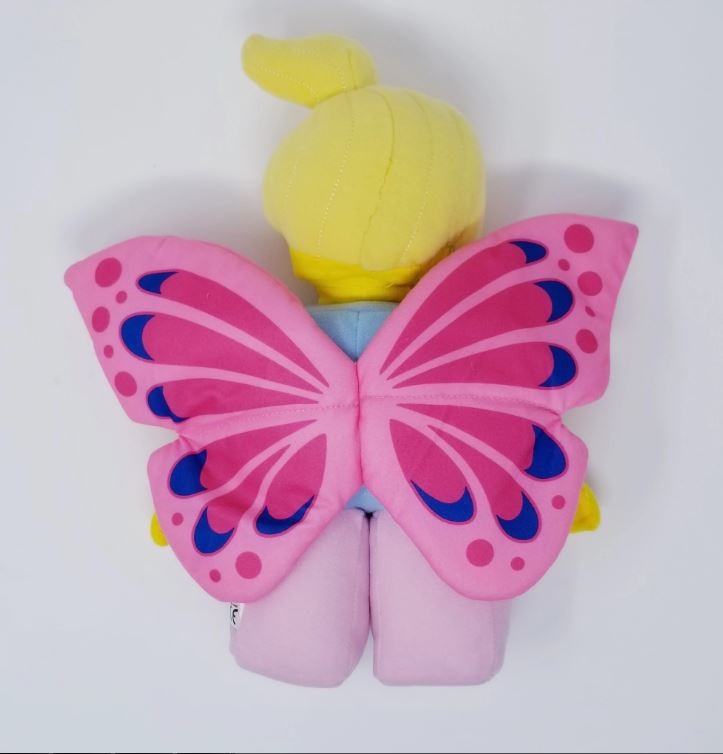 LEGOLAND® Exclusive! Butterfly Girl LEGO® Minifigure Plush