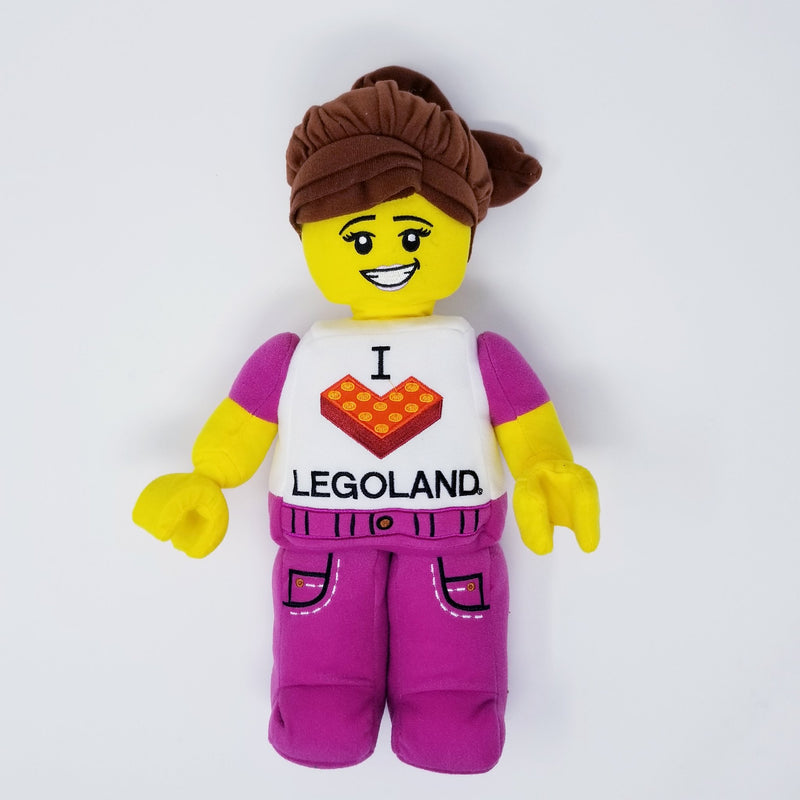 LEGOLAND® EXCLUSIVE! LEGO® Iconic Girl Minifigure Plush