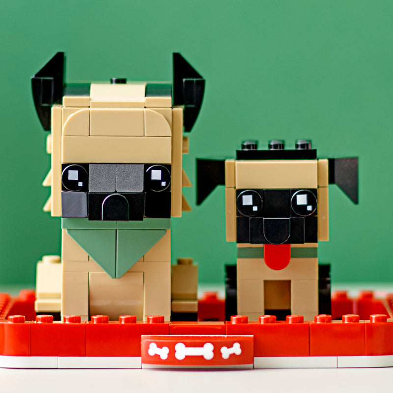 LEGO® BrickHeadz German shepherd 40440