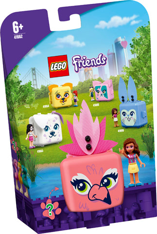 LEGO® Friends Olivia's Flamingo Cube 41662