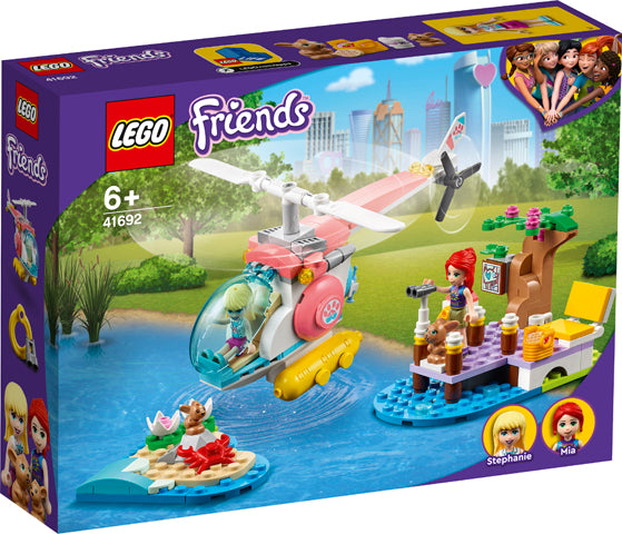 LEGO® Friends Vet Clinic Rescue Helicopter 41692