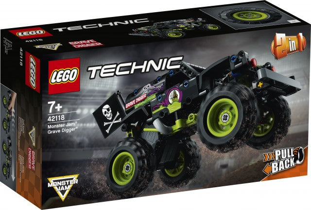 The LEGO® Technic™ Monster Jam Grave Digger® 42118