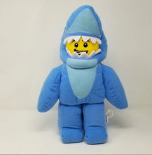 Load image into Gallery viewer, LEGOLAND® EXCLUSIVE! Shark Guy LEGO® Minifigure Plush